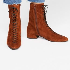 Joyce Lace Up Boots by Vagabond Shoemakers